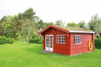 Gartenhaus-rot-Port